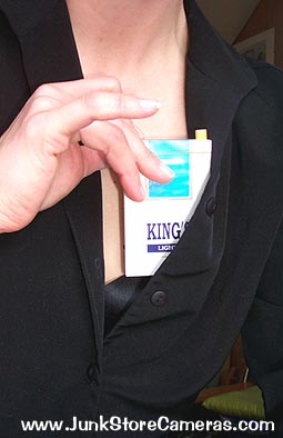 Marcy's King's Lights Cigarette Camera Review: