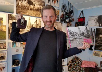 The Gala Hawkeye ended up with Ari Sigvaldason who gave me his wonderful book of photographs. Fotografi, Reykjavik, Iceland