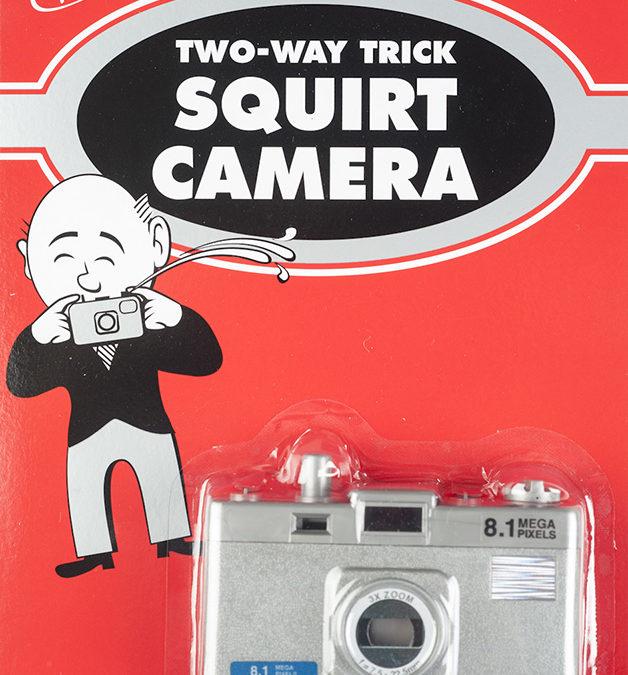 Squirt Cameras!