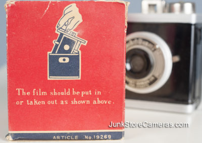 How to load the film.